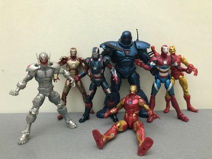 Marvel Legends Iron Monger Series Set(Ironman、War Machine)
