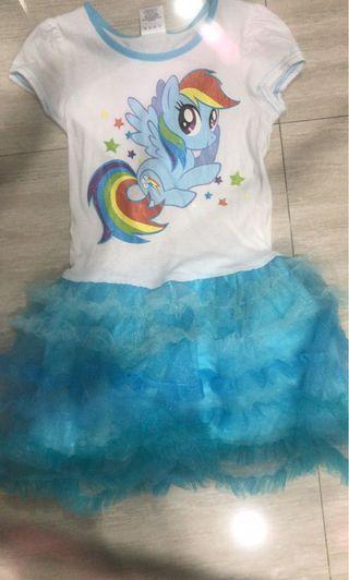Baju Anak little pony tutu