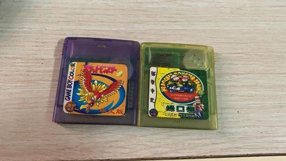 GameBoy Pokemon Gold&Green