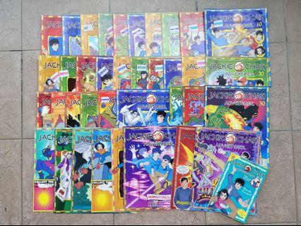Bundle of Jackie Chan Adventures Magazines [35 Books]