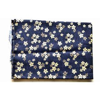Japanese Ikebana style cherry blossom cotton fabric cloth DIY bag making patchwork quilting