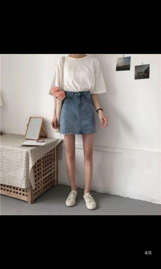 🚚 Denim Skirt