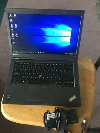 Lenovo T440p Core i5-4300u 8gb RAM 500GB HDD DVD Adaptor @ 330$