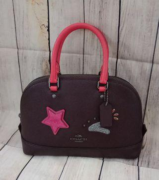 Coach mini sierra oxblood
