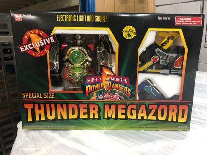 (全新)Bandai Power Rangers發聲機械人 (恐龍戰隊)