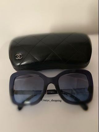 Chanel Sunglasses 深藍色