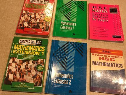 HSC Maths textbooks