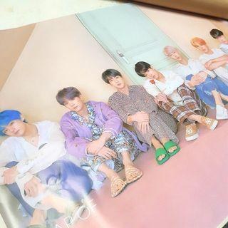 防彈少年團BTS 專輯 MAP OF THE SOUL PERSONA 版本三 Ver3  海報