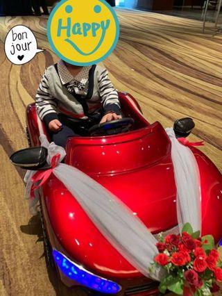 🚚 Remote Control Electric Car - Wedding Baby Car