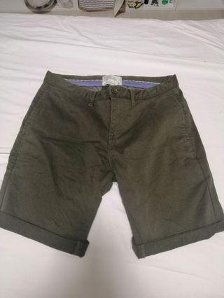 Padini Mens Green Shorts