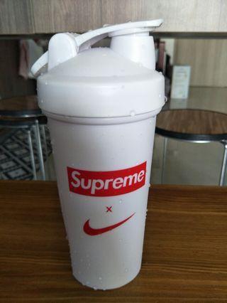 Supreme X Nike Protein Shaker