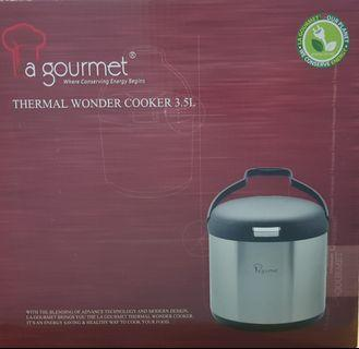 Free delivery- La gourmet 3.5L Thermal Wonder Cooker