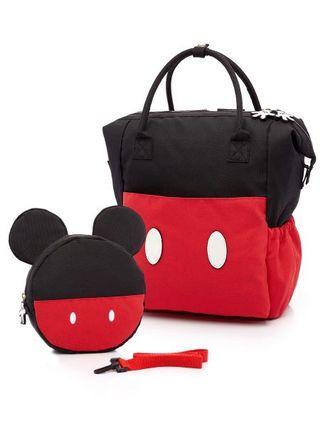 🚚 mamaway媽媽餵 親子包 迪士尼授權米老鼠款原價3580元
