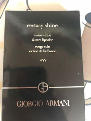Giorgio Armani ecstasy shine 唇膏 #400