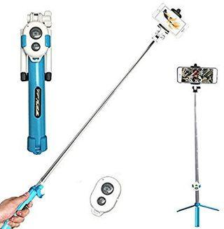 🏃Fast selling Selfie stick camera stand n bluetooth remote
