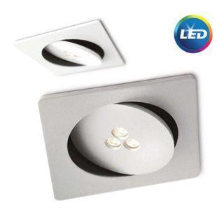 飛利浦 LED 7.5W 圓形平面嵌牆式射燈68031