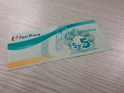 $5 Fairprice Voucher