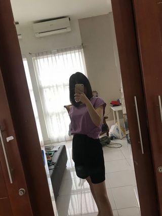Purple pastel shirt