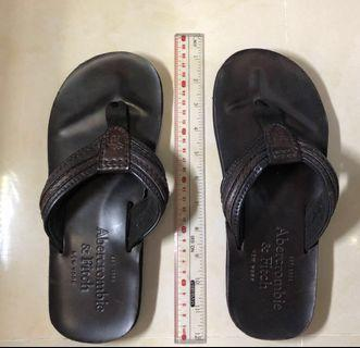 Abercrombie and Fitch Leather Slipper