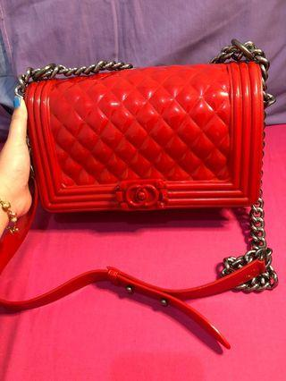 Red jellly chanel