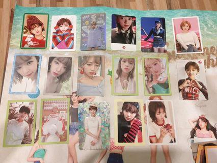 Twice Jeongyeon Photocards