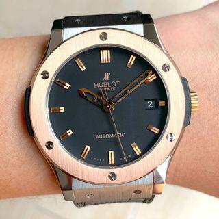 [ SOLD ] Hublot Classic Fusion 45mm Rose Gold/Ti