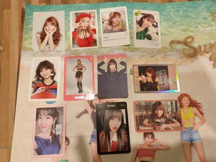 Twice Momo Photocards