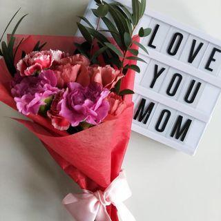 🚚 FREE DELIVERY Mother's Day Fresh Carnations