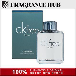 [Original] Calvin Klein cK Free EDT Men 100ml