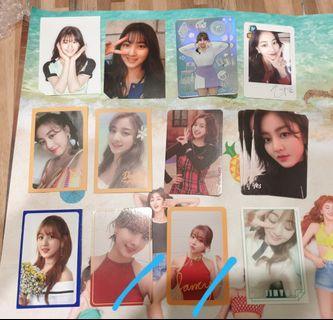 Twice Jihyo Photocards