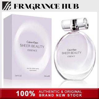 [Original] Calvin Klein cK Sheer Beauty Essence EDP Lady 100ml