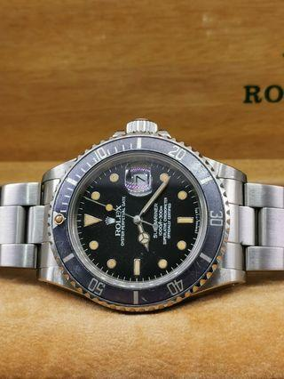 Rolex Submariner 16800, full set dtd 1987.