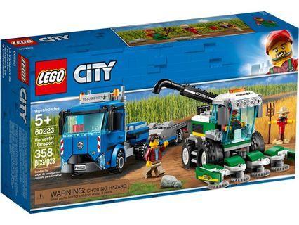 [ 順豐站取貨 ] Lego 60223 Harvester Transport