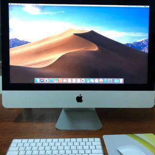 """iMac 21 21.5"""" Retina 4K 保固到6月"""