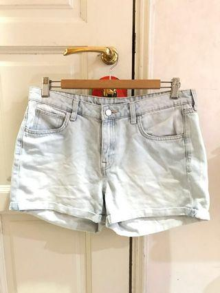 Denim Shorts H&M #GAYARAYA