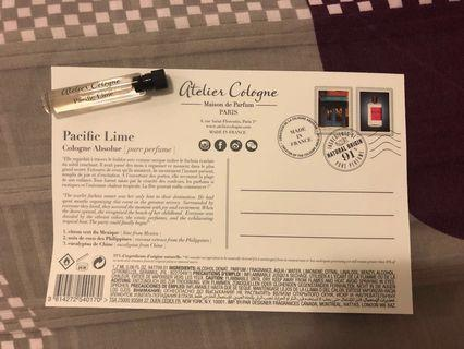 Atelier Cologne Pacific Lime perfume 香水板