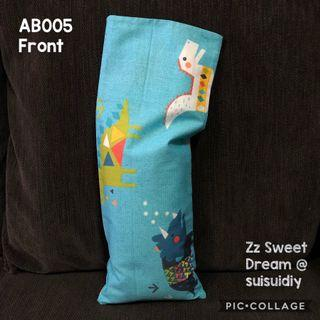 AB005 ~ Dinosaur 🦕 Baby's Beansprout Husk/ Buckwheat Hull Pillow