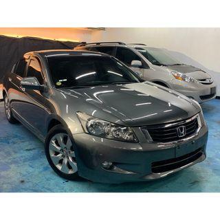正2008年 新款八代Honda Accord 2.4VTI-S 頂級版本 漂亮鐵灰色