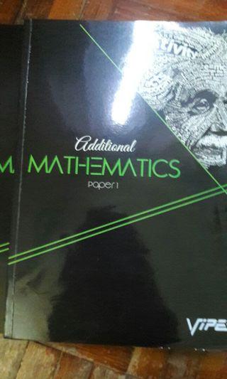 SPM Additional Mathematics Exercise