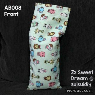 AB008 ~ Baby's Beansprout Husk / buckwheat hull pillow