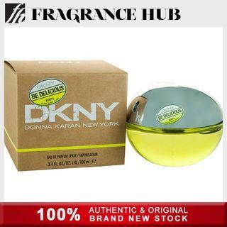 [Original] DKNY Be Delicious Green Apple EDP Lady 100ml