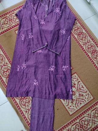 Baju Kurung Pahang Manik (Purple)
