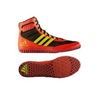 Adidas Mat Wizard 3 Energy Yellow Wrestling Shoes