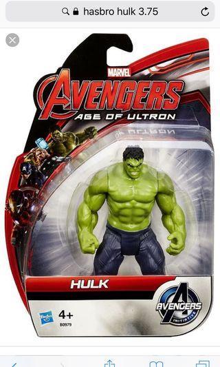 Hasbro marvel age of ultron hulk 3.75 (no box)