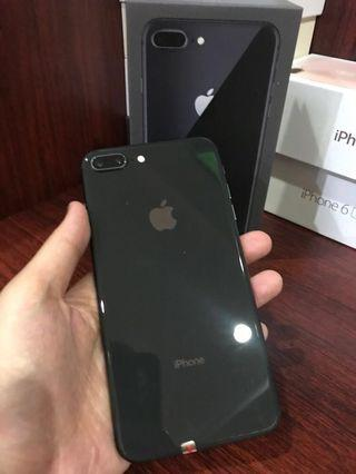 Second iphone 8 plus space gray 256 gb