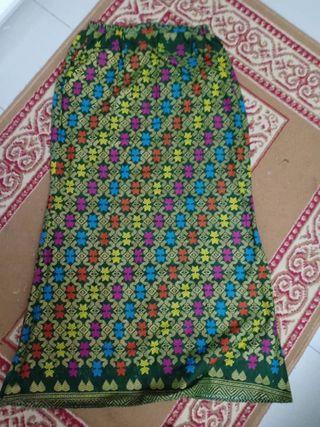 Sarawak Skirt (Green)
