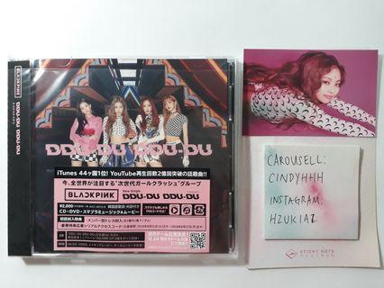 INSTOCK DDU DU DDU DU CD + DVD JAPANESE SEALED ALBUM