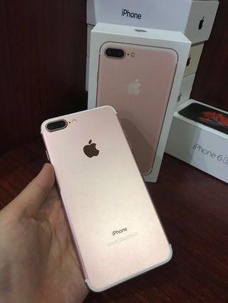 Second iphone 7 plus rose gold 32 gb