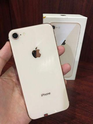 Second iphone 8 gold 256gb