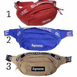 👍INSTOCK FAST DELIVERY⚡️ Supreme 18SS 19SS Waist Pouch / Crossbody Bag / Sling Bag / 👍HIGH QUALITY